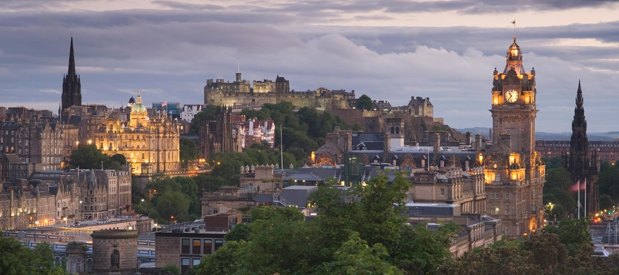Edinburgh-at-Dusk