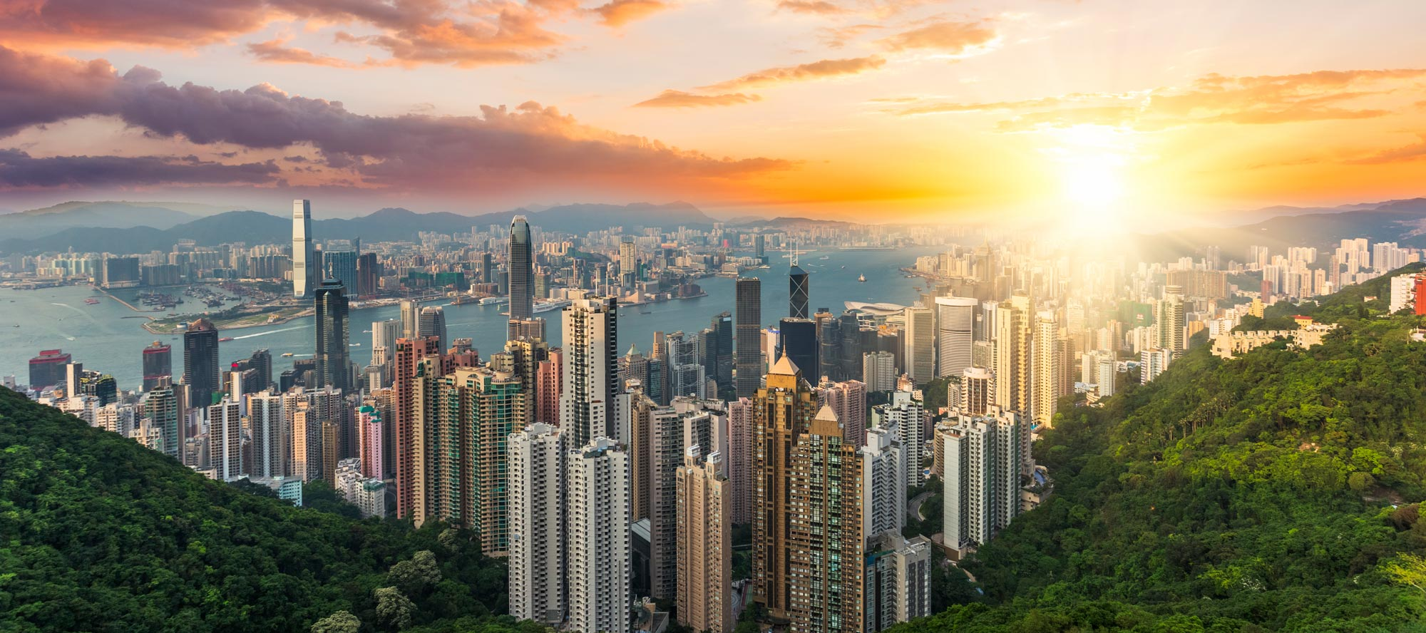 Hong-Kong-at-Sunset